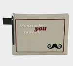 Load image into Gallery viewer, Moustache You to Smile | #handypouch