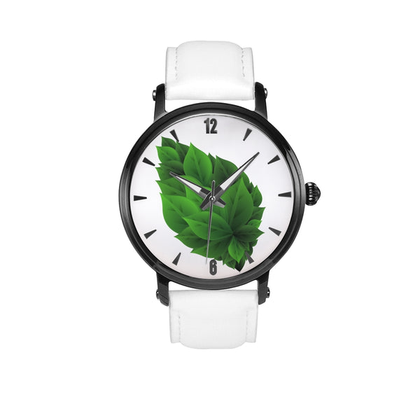The Love for Green Leaf, Enviornment Love Wrist Watch, Trekking and Camping Watch