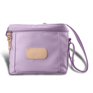 Frio front angle in Color 'Lilac Coated Canvas'