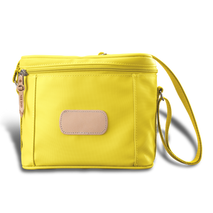 Frio front angle in Color 'Lemon Coated Canvas'