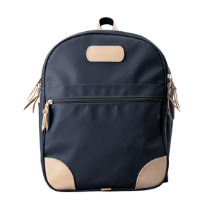 Backpack front view in Color 'Charcoal Coated Canvas'