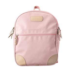 Backpack front view in Color 'Rose Coated Canvas'