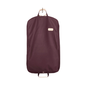 Mainliner - Burgundy Coated Canvas Front Angle in Color 'Burgundy Coated Canvas'