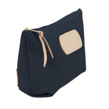 Load image into Gallery viewer, Grande - Navy Coated Canvas Front Angle in Color 'Navy Coated Canvas'