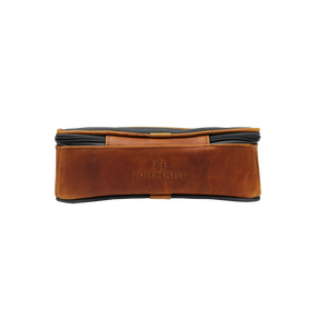 JH Dopp Kit - Smoke Canvas Front Angle in Color 'Smoke Canvas'