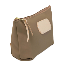 Grande - Saddle Coated Canvas Front Angle in Color 'Saddle Coated Canvas'