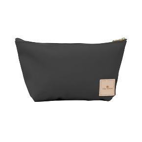 Grande - Charcoal Coated Canvas Front Angle in Color 'Charcoal Coated Canvas'