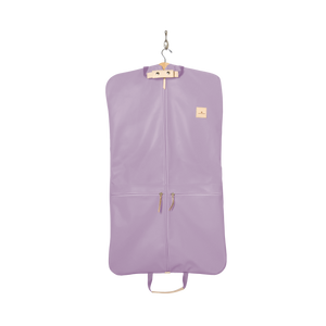 Two-Suiter - Lilac Coated Canvas Front Angle in Color 'Lilac Coated Canvas'
