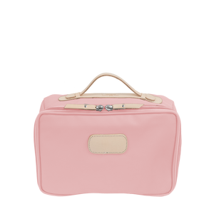 Large Travel Kit Front Angle in Color 'Rose Coated Canvas'