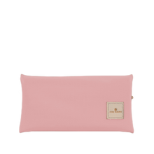 Load image into Gallery viewer, Large Pouch Back Angle in Color 'Rose Coated Canvas'