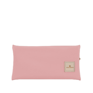 Large Pouch Back Angle in Color 'Rose Coated Canvas'