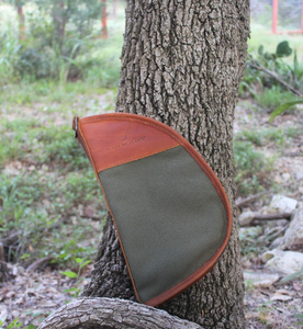 Cotton Canvas Large Revolver Case from Jon Hart: the best bags for life