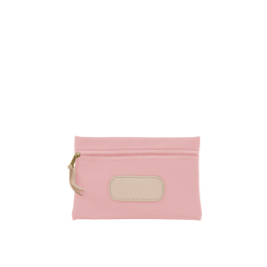 Pouch Front Angle in Color 'Rose Coated Canvas'