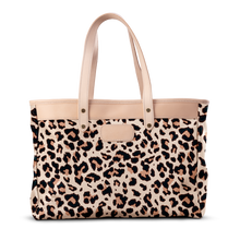 Load image into Gallery viewer, Bebita - Leopard Coated Canvas Front Angle in Color 'Leopard Coated Canvas'