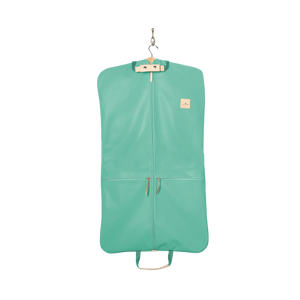 Two-Suiter - Mint Coated Canvas Front Angle in Color 'Mint Coated Canvas'