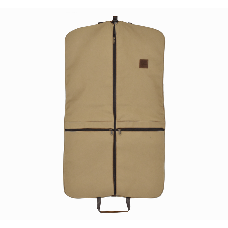 JH Two-Suiter - Khaki Canvas Front Angle in Color 'Khaki Canvas'