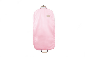 "50"" Garment Bag Front Angle in Color 'Rose Coated Canvas'"