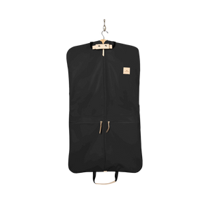 Two-Suiter - Black Coated Canvas Front Angle in Color 'Black Coated Canvas'