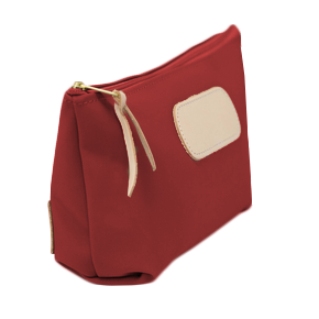 Grande - Red Coated Canvas Front Angle in Color 'Red Coated Canvas'