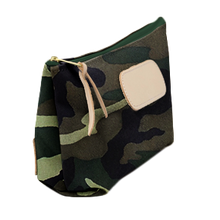 Load image into Gallery viewer, Grande - Classic Camo Coated Canvas Front Angle in Color 'Classic Camo Coated Canvas'