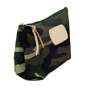 Grande - Classic Camo Coated Canvas Front Angle in Color 'Classic Camo Coated Canvas'