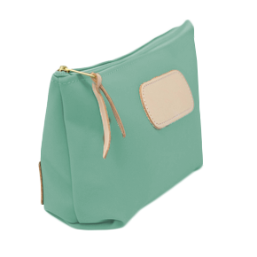 Grande - Mint Coated Canvas Front Angle in Color 'Mint Coated Canvas'