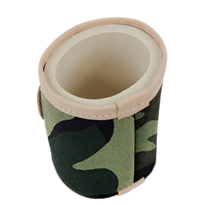 Cool It - Classic Camo Coated Canvas Front Angle in Color 'Classic Camo Coated Canvas'