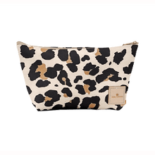 Load image into Gallery viewer, Grande - Leopard Coated Canvas Front Angle in Color 'Leopard Coated Canvas'