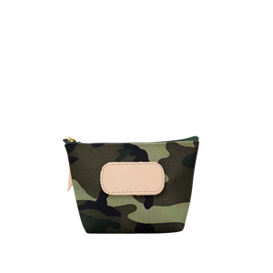 Chico - Classic Camo Coated Canvas Front Angle in Color 'Classic Camo Coated Canvas'