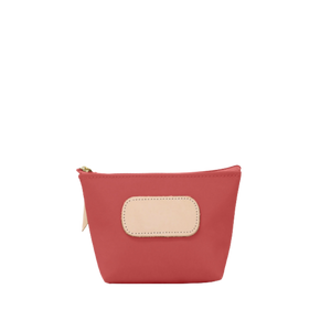 Chico - Coral Coated Canvas Front Angle in Color 'Coral Coated Canvas'