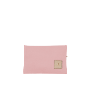 Pouch Back Angle in Color 'Rose Coated Canvas'