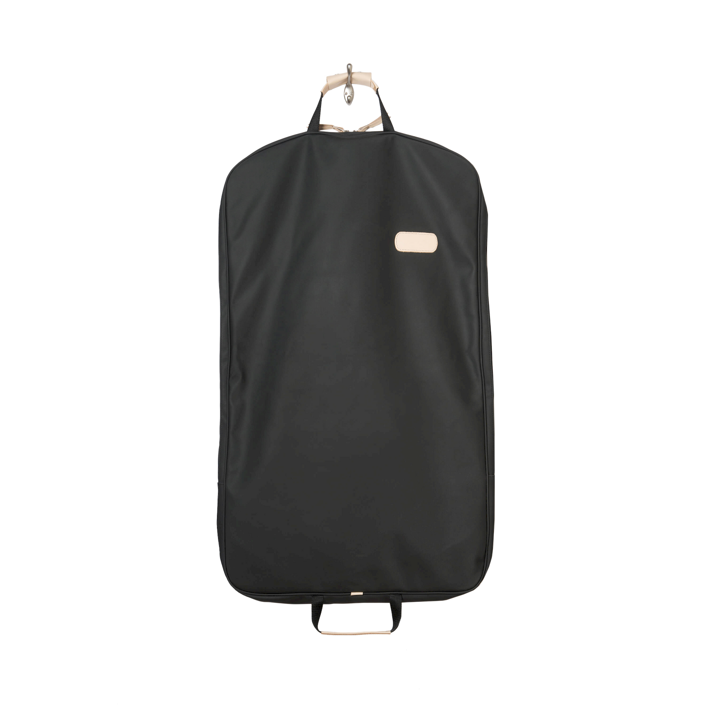 Mainliner - Black Coated Canvas Front Angle in Color 'Black Coated Canvas'