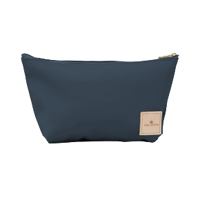 Grande - French Blue Coated Canvas Front Angle in Color 'French Blue Coated Canvas'
