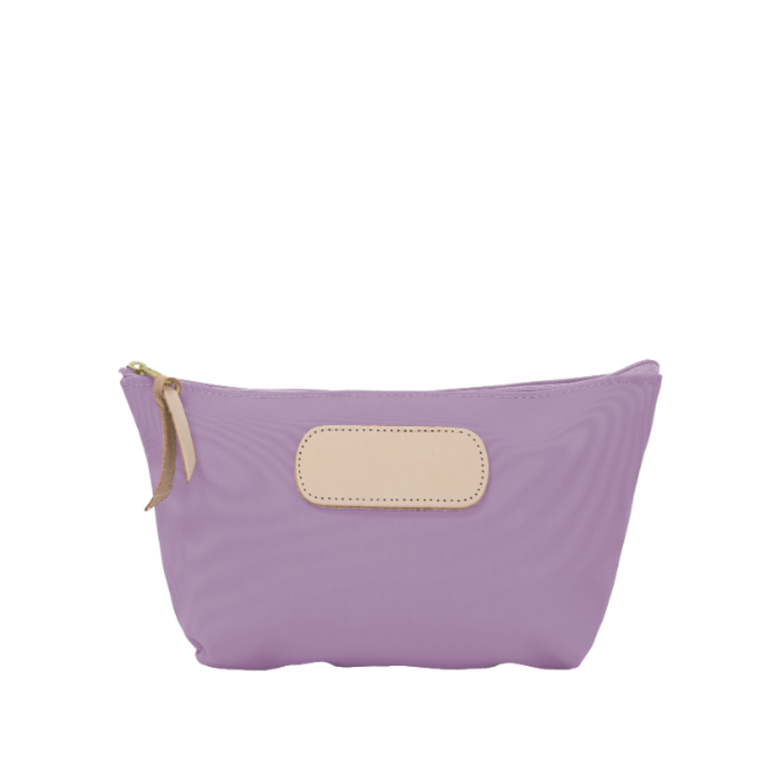 Grande - Lilac Coated Canvas Front Angle in Color 'Lilac Coated Canvas'