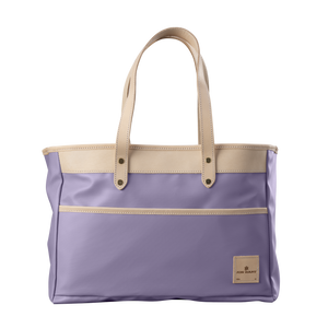 Bebita - Lilac Coated Canvas Front Angle in Color 'Lilac Coated Canvas'