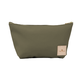 Grande - Moss Coated Canvas Front Angle in Color 'Moss Coated Canvas'