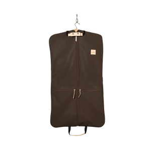 Two-Suiter - Espresso Coated Canvas Front Angle in Color 'Espresso Coated Canvas'