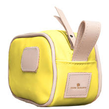 Load image into Gallery viewer, Junior Shave Kit - Lemon Coated Canvas Front Angle in Color 'Lemon Coated Canvas'