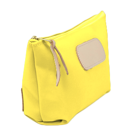 Grande - Lemon Coated Canvas Front Angle in Color 'Lemon Coated Canvas'