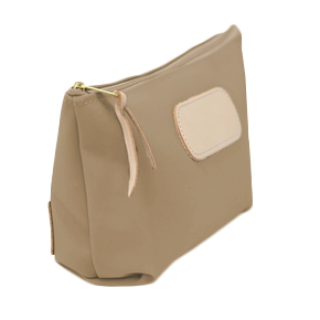 Grande - Tan Coated Canvas Front Angle in Color 'Tan Coated Canvas'