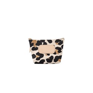 Chico - Leopard Coated Canvas Front Angle in Color 'Leopard Coated Canvas'