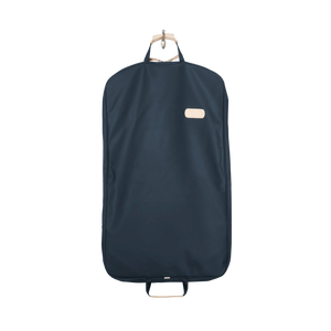 Mainliner - Navy Coated Canvas Front Angle in Color 'Navy Coated Canvas'
