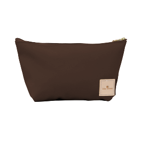 Grande - Espresso Coated Canvas Front Angle in Color 'Espresso Coated Canvas'