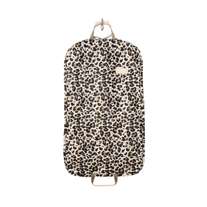 Mainliner - Leopard Coated Canvas Front Angle in Color 'Leopard Coated Canvas'