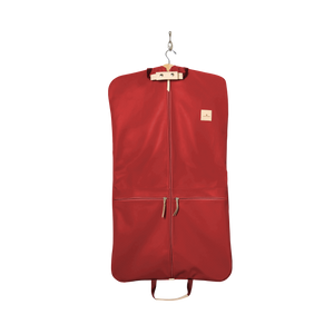 Two-Suiter - Red Coated Canvas Front Angle in Color 'Red Coated Canvas'