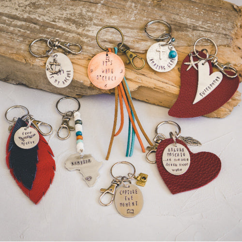 Keyrings - Handstamped