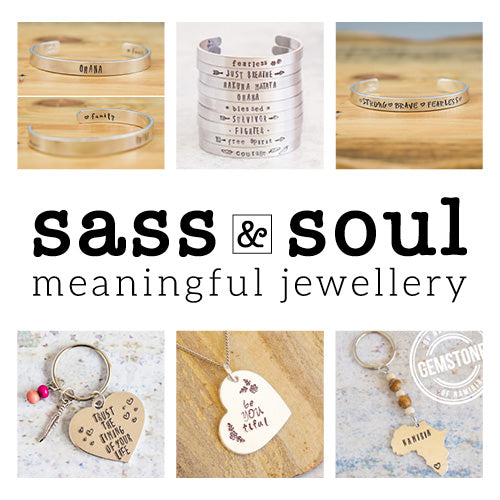 Sass & Soul - Meaningful Jewellery
