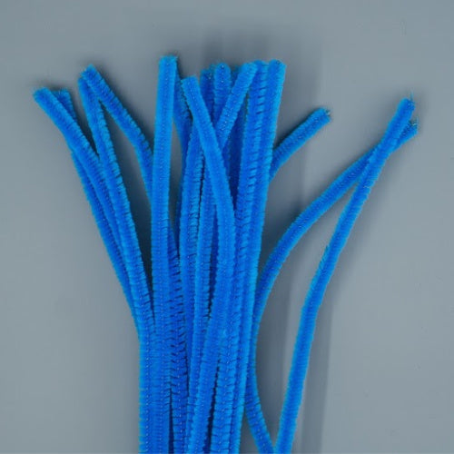 Chenille Sticks 6mm - Blue