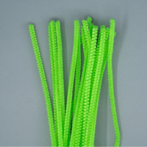 Chenille Sticks 6mm - Lime