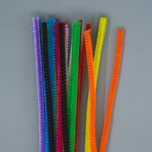 Chenille Sticks 6mm - Mixed